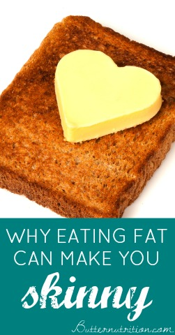 Why Eating Fat Can Make You Skinny | Butter Nutrition