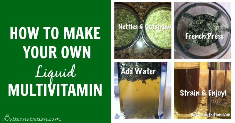 Make-It-Yourself Liquid Multivitamin | Butternutrition.com
