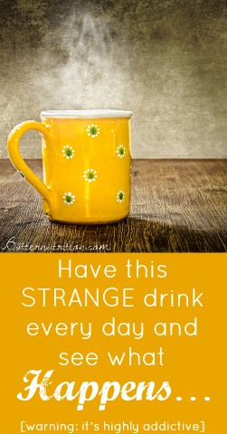 Drink this STRANGE drink every day and see what happens... [warning: it's highly addictive]