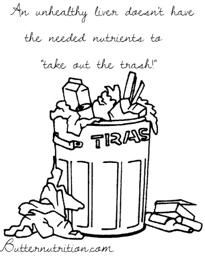 Impaired detox: 17 Signs your body is not taking out the trash!   Butter Nutrition