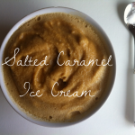 Salted Caramel Ice Cream (Coconut Style) | Butter Nutrition