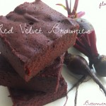 Flourless Red Velvet Brownies