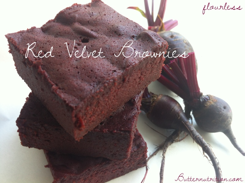 Flourless Red Velvet Beet Brownies | Butter Nutrition