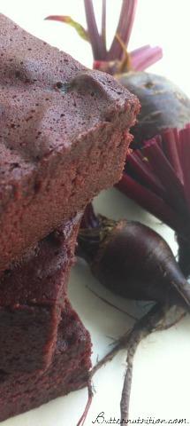 Flourless Red Velvet Beet Brownies- The Perfect Gluten Free Dessert! | Butter Nutrition