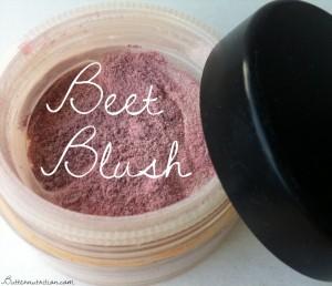 Simple DIY Beet Blush