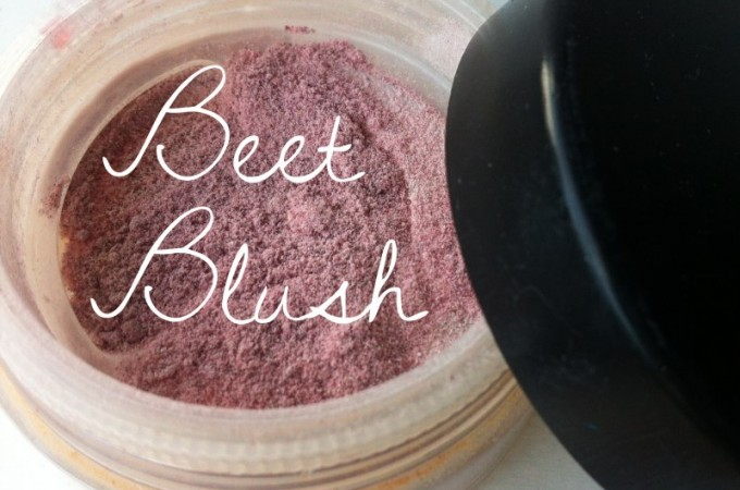 Simple DIY Beet Blush