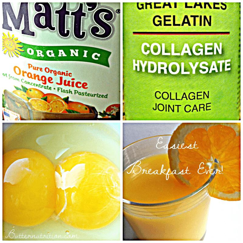 DIY Organic Aspirin Alternative: Orange Julius | Butter Nutrition