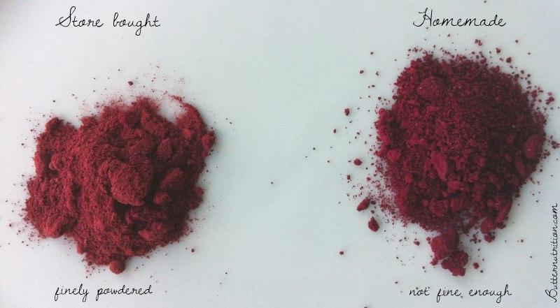 beet blush powder comparison