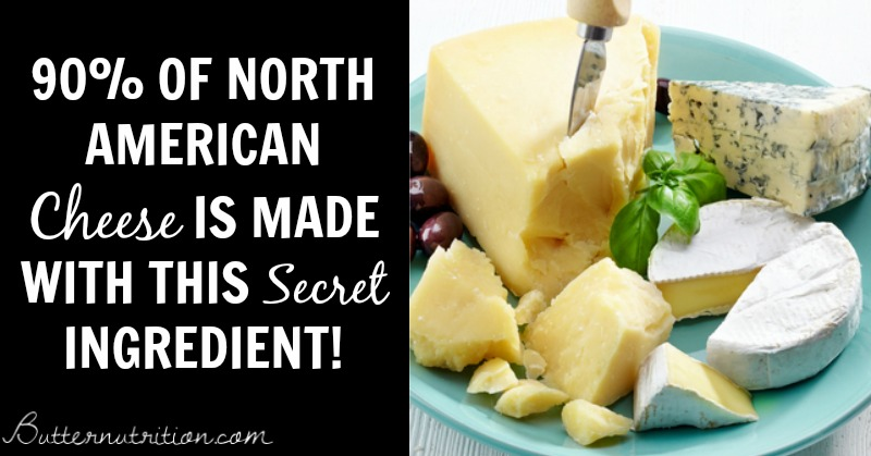 90% of North American cheese contains this secret ingredient