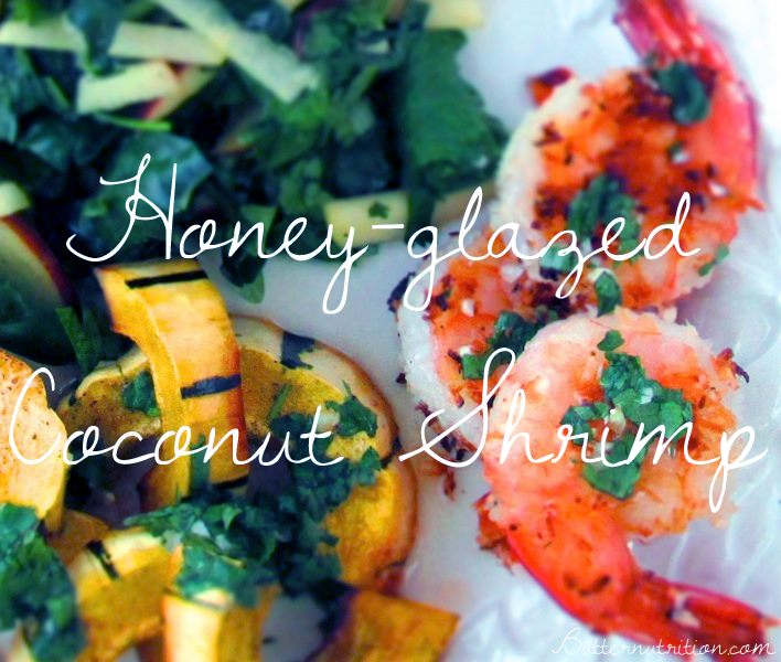 Honey Glazed Coconut Shrimp Recipe | Butter Nutrition
