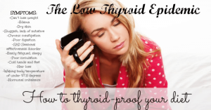 Low thyroid: How to thyroid proof your diet