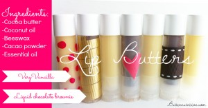 DIY Buttery Lip Gloss (vanilla & chocolate brownie) | Butter Nutrition