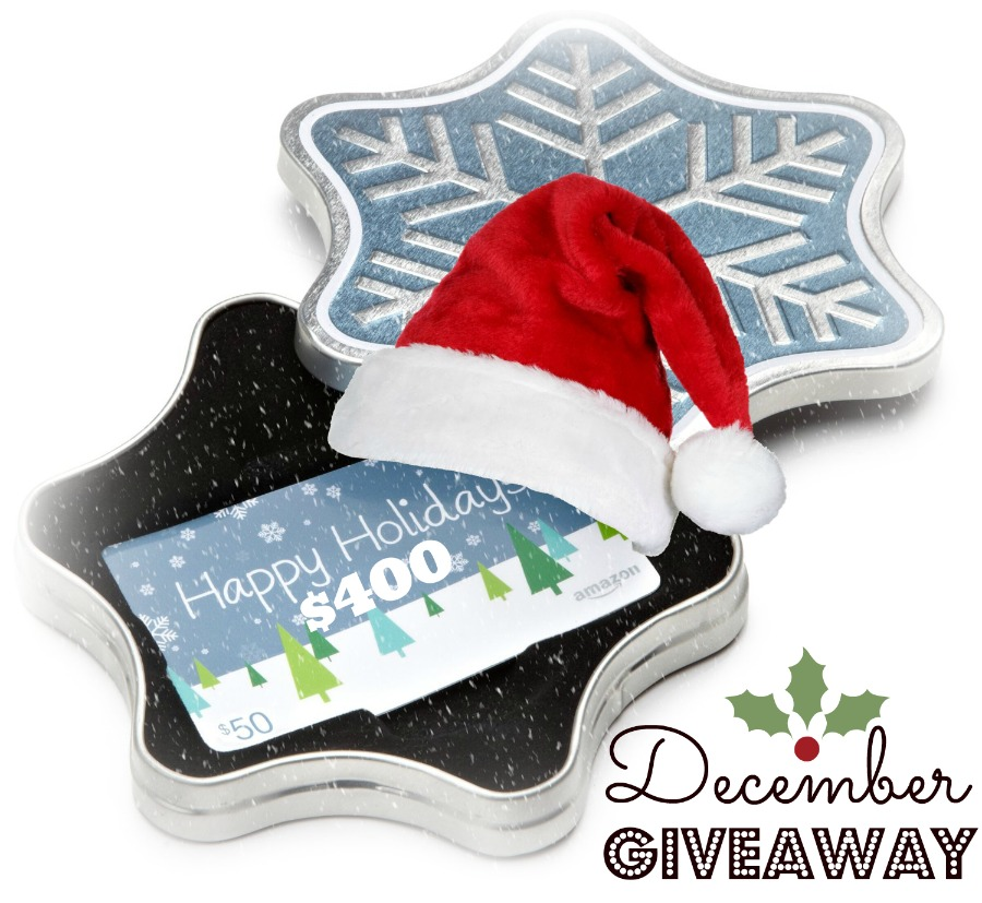Enter to win a $400 giveaway! December 2013 | Butter Nutrition