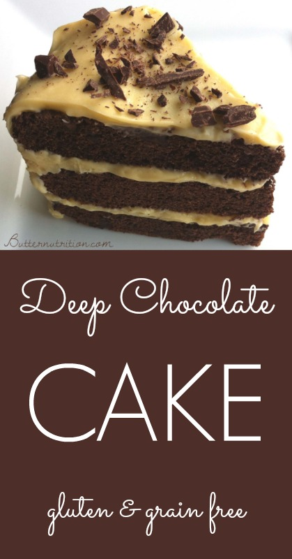 Deep Chocolate Cake (grain free) | Butternutrition.com