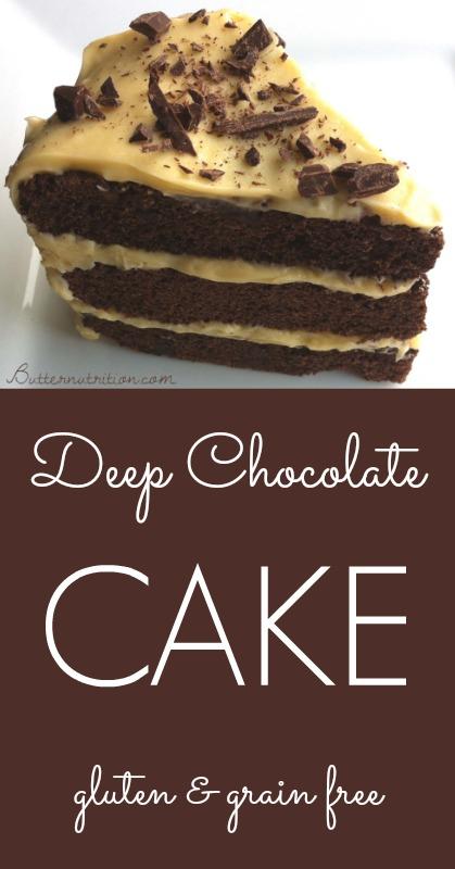 Gluten Free Chocolate Cake   Butternutrition.com