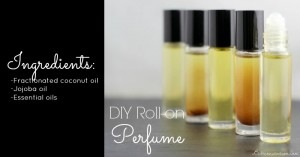 DIY Roll-on Perfume with Essential Oils