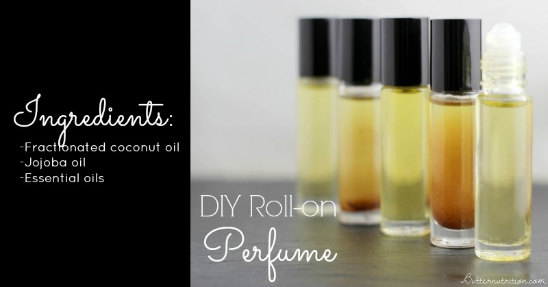 DIY Roll-on Perfume with Essential Oils | Butternutrition.com