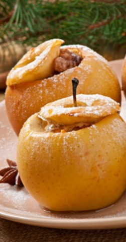 All Natural Baked Apples | Butter Nutrition