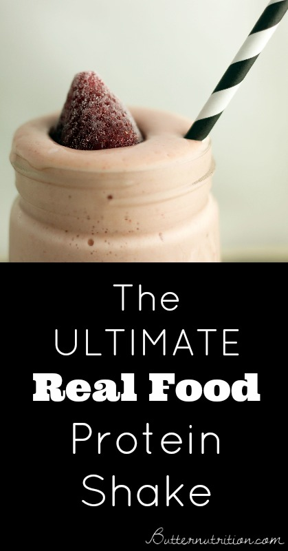 The Ultimate Real Food Protein Shake | Butternutrition.com
