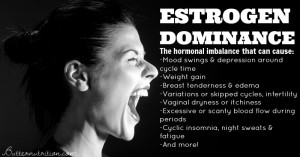 Estrogen dominance: the hormonal imbalance that causes edema, weight gain, infertility, low thyroid, varicose veins and more!