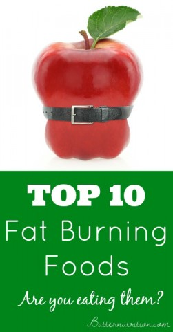 Top 10 Fat Burning Foods- Are you eating them?   Butter Nutrition