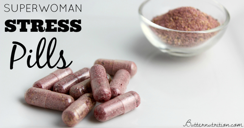 Superwoman Stress Pills for Stress Relief | Butter Nutrition