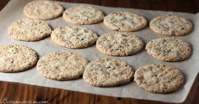 The BEST Gluten Free Chocolate Chip Cookie Recipe | Butter Nutrition
