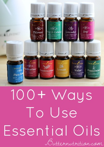 100+ Ways to use Essential Oils (FREE DOWNLOAD) | Butter Nutrition