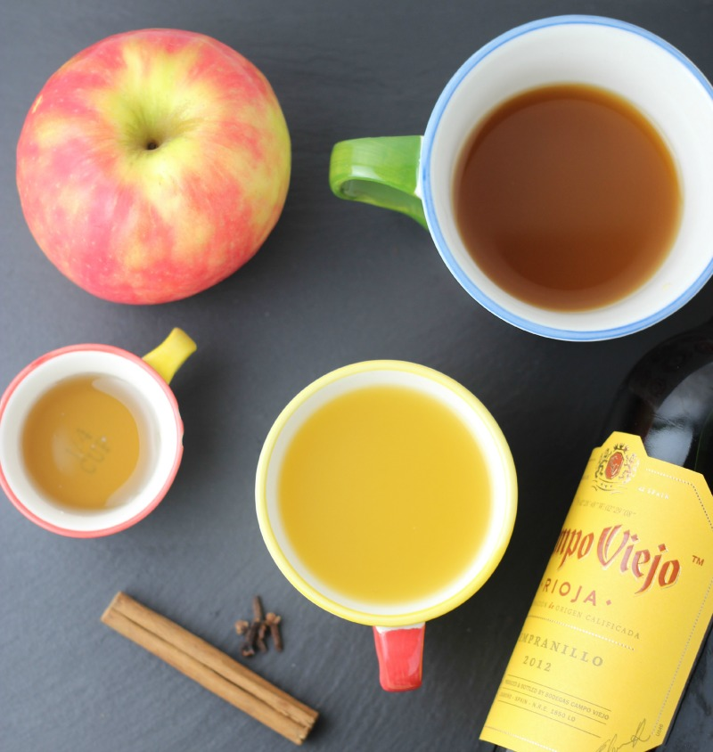 Spiced Red Sangria Ingredients | Butter Nutrition