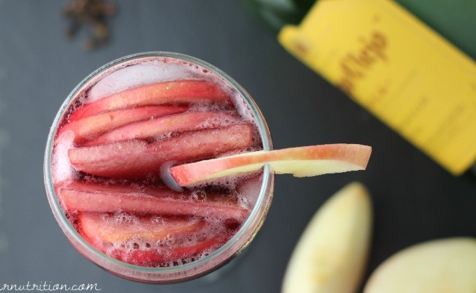 Spiced Red Sangria Recipe |Butter Nutrition