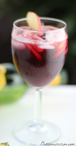 Spiced Red Sangria Recipe | Butter Nutrition