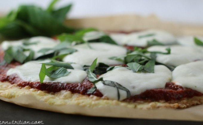 Super Easy Gluten Free Pizza Crust with Rice Flour