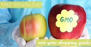 FREE DOWNLOAD: Non-GMO Shopping Guide