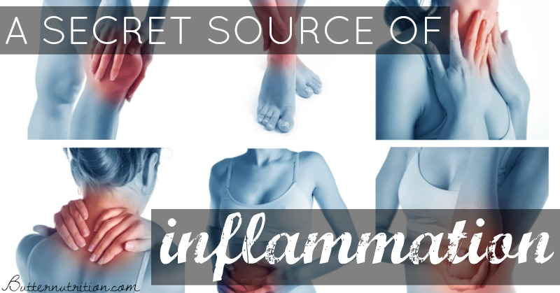 A Surprising Source of Inflammation And Everyone Is Eating It! (hint: it's NOT gluten)