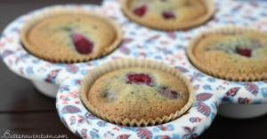 Gluten Free Muffins with Raspberries