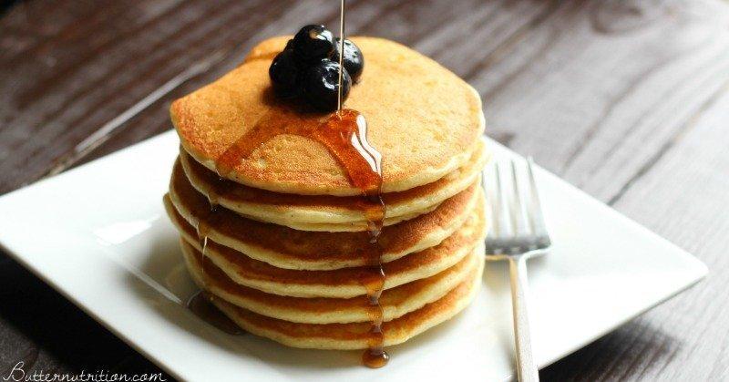 High Protein Gluten Free Pancakes   Butter Nutrition