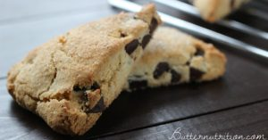 Gluten Free Scones With Chocolate Chunks