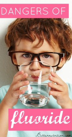 Did you know 50 studies have linked fluoride with reduced IQ in children?! Why are you still drinking it? Here's how to ditch fluoride... | Butter Nutrition