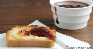 Homemade Plum Butter | Butter Nutrition