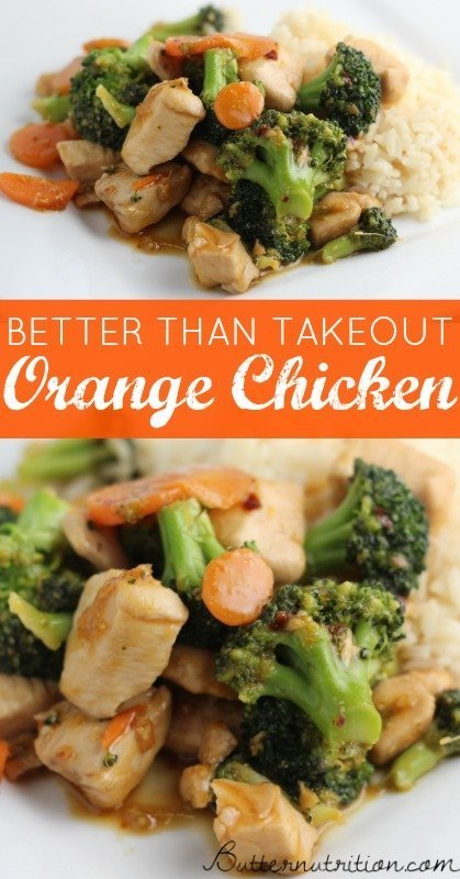 Better Than Takeout: Healthy Orange Chicken Recipe | Butter Nutrition